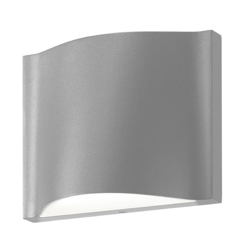 Sonneman Lighting Sonneman Drift Textured Gray LED Outdoor Wall Light 7239.74-WL
