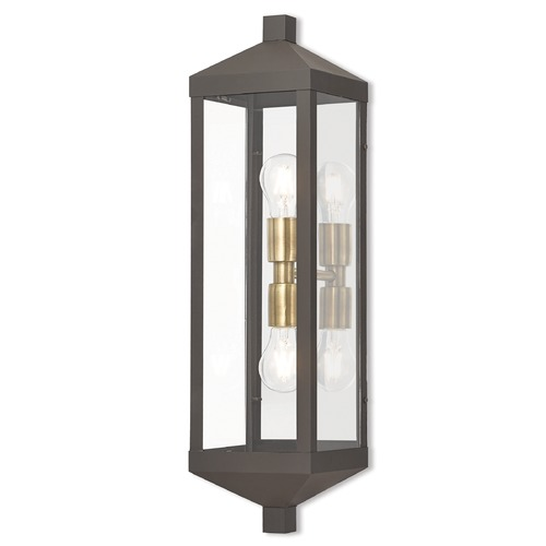 Livex Lighting Livex Lighting Nyack Bronze Outdoor Wall Light 20583-07