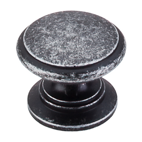 Top Knobs Hardware Cabinet Knob in Black Iron Finish M353