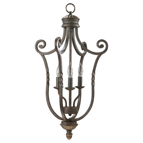 Quorum Lighting Quorum Lighting Tribeca Ii Oiled Bronze Pendant Light 6878-3-86