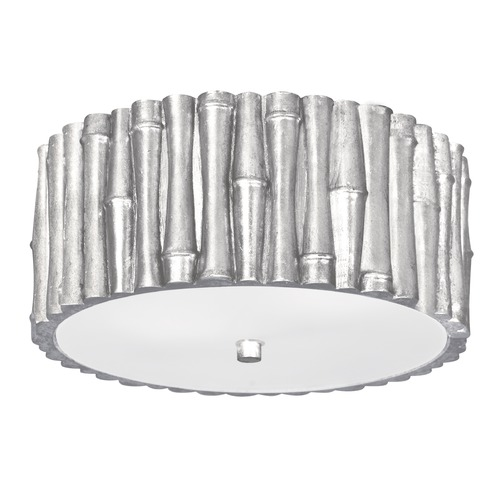 Crystorama Lighting Crystorama Lighting Masefield Antique Silver Flushmount Light 9010-SA