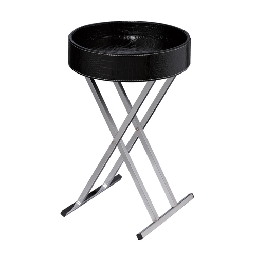 Sterling Lighting Sterling Lighting Black Accent Table 6043649