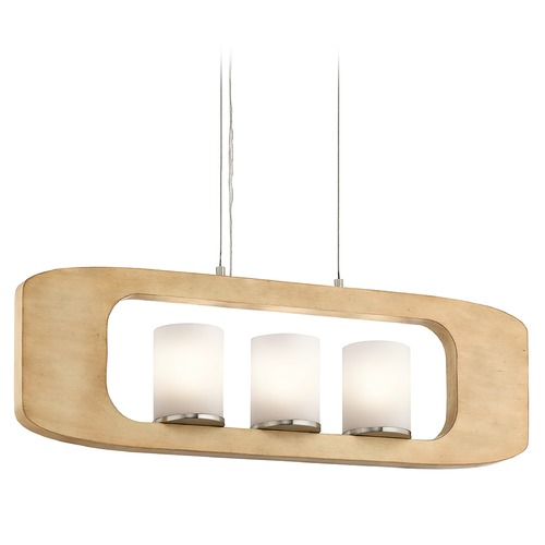Kichler Lighting Kichler Lighting Passport Island Light with Cylindrical Shade 43759NI
