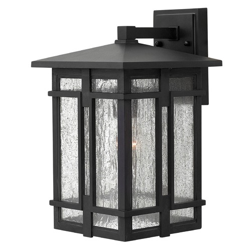 Hinkley Lighting Hinkley Lighting Tucker Museum Black LED Outdoor Wall Light 1964MB-LED