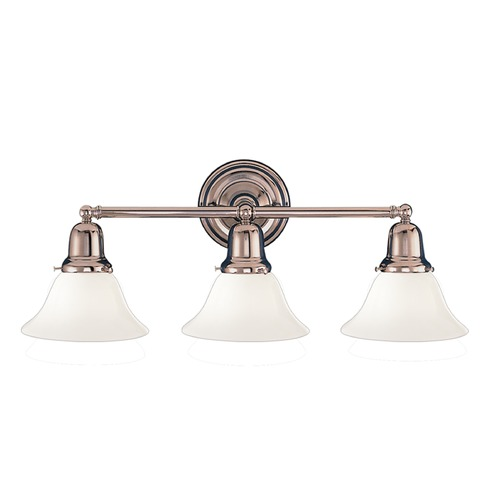 Hudson Valley Lighting Hudson Valley Lighting Edison Collection Polished Nickel Bathroom Light 583-PN-415