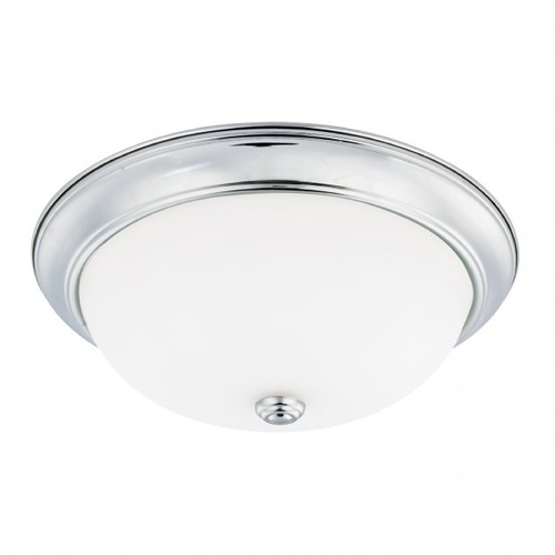 HomePlace by Capital Lighting HomePlace Lighting Ceiling Chrome Flushmount Light 214731CH