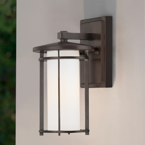 Minka Lavery Bronze Outdoor Wall Light 72311-615B