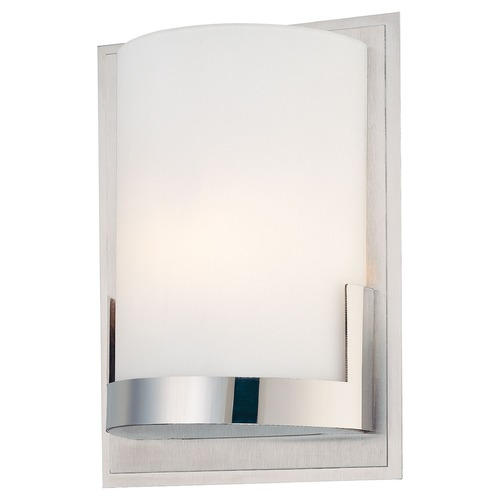 George Kovacs Lighting George Kovacs Convex Brushed Aluminum Pin-Up Lamp P5951-077