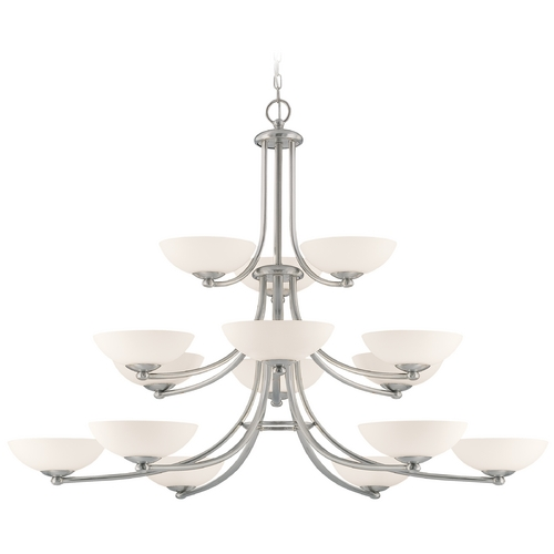Dolan Designs Lighting Rainier 15-Light Three-Tier Chandelier 2903-09