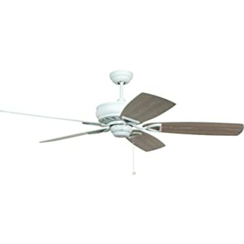 Craftmade Lighting Craftmade Lighting Supreme Air White Ceiling Fan Without Light SUA56WW5