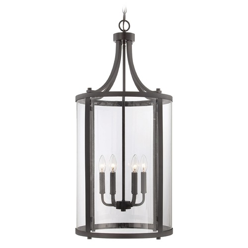 Savoy House Savoy House English Bronze Pendant Light with Cylindrical Shade 7-1041-6-13