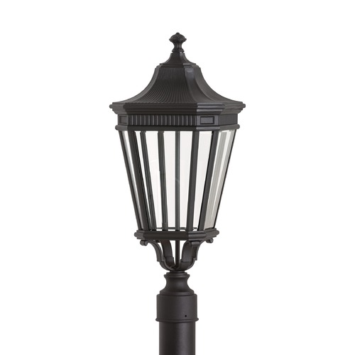 Feiss Lighting Feiss Lighting Cotswold Lane Black LED Post Light OL5407BK-LED