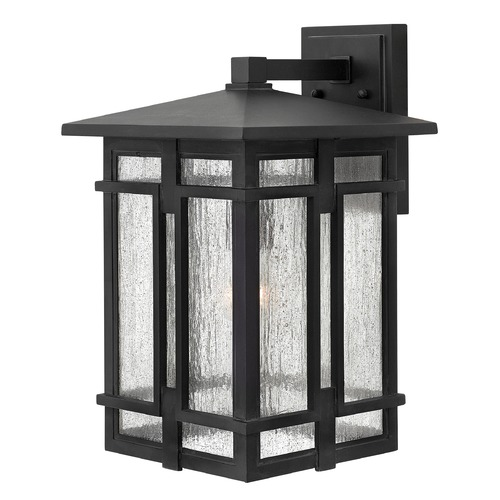 Hinkley Lighting Hinkley Lighting Tucker Museum Black Outdoor Wall Light 1965MB