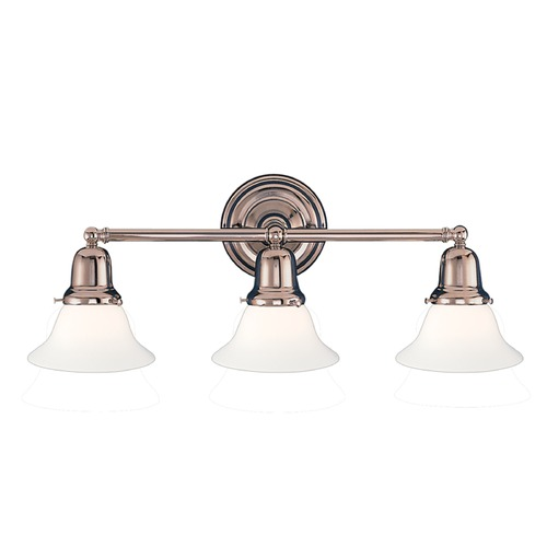Hudson Valley Lighting Hudson Valley Lighting Edison Collection Polished Nickel Bathroom Light 583-PN-415M