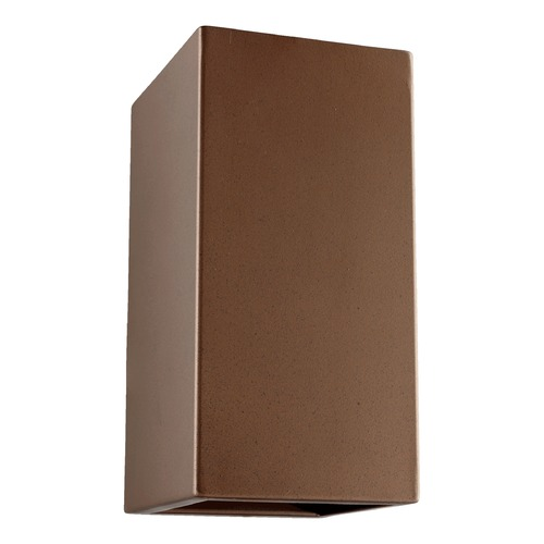 Quorum Lighting Quorum Lighting Ion Oiled Bronze Outdoor Wall Light 778-86