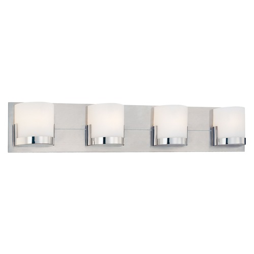 George Kovacs Lighting George Kovacs Convex Chrome Bathroom Light P5954-077