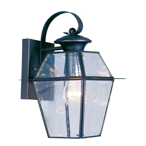 Livex Lighting Livex Lighting Westover Black Outdoor Wall Light 2181-04