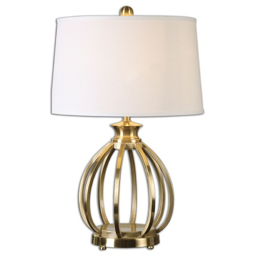 Uttermost Lighting Uttermost Decimus Brass Lamp 26167