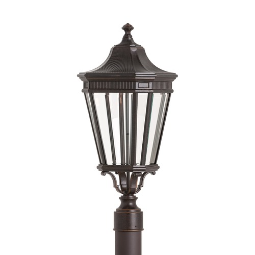 Feiss Lighting Feiss Lighting Cotswold Lane Grecian Bronze LED Post Light OL5407GBZ-LED