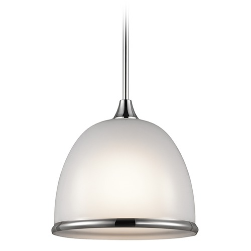 Kichler Lighting Kichler Lighting Rory Pendant Light with Bowl / Dome Shade 42951CH