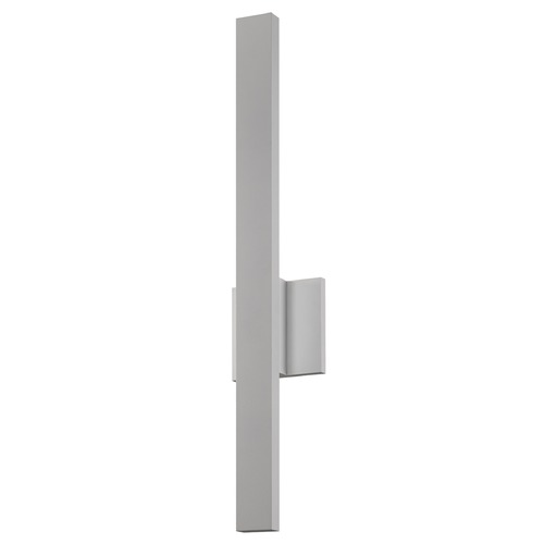 Sonneman Lighting Sonneman Sword Textured Gray LED Outdoor Wall Light 7240.74-WL