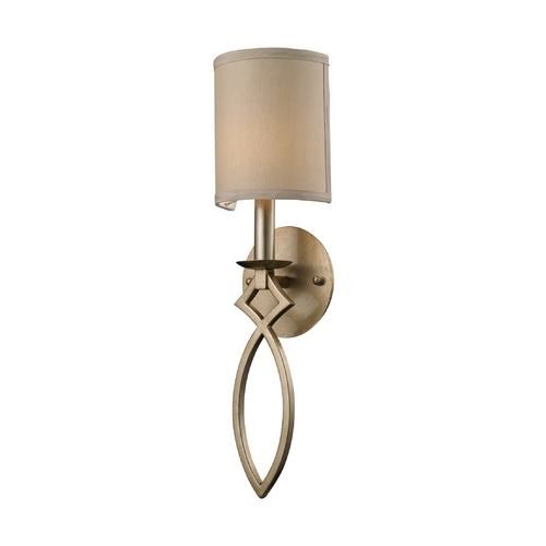 Elk Lighting Modern Sconce Wall Light in Aged Silver Finish 31120/1