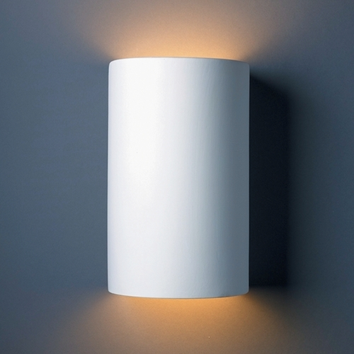 Justice Design Group Sconce Wall Light in Bisque Finish CER-5265-BIS