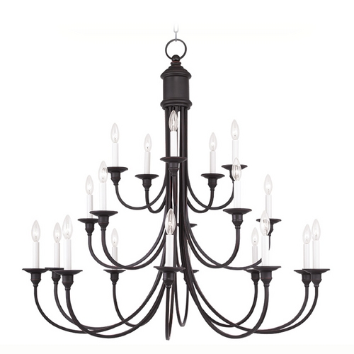 Livex Lighting Livex Lighting Cranford Olde Bronze Chandelier 5140-67