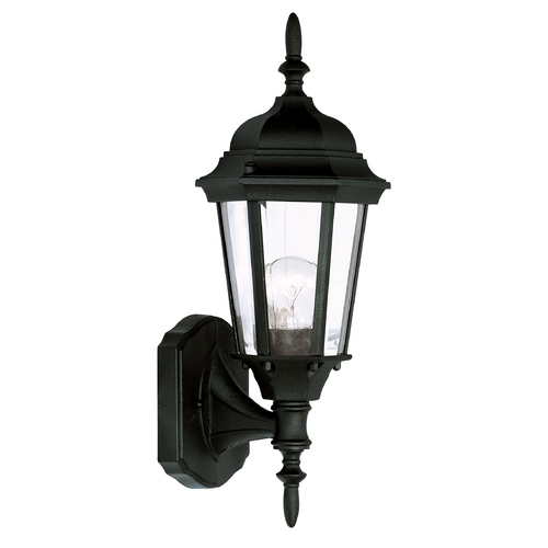 Livex Lighting Livex Lighting Hamilton Black Outdoor Wall Light 7551-04