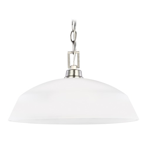 Sea Gull Lighting Sea Gull Kerrville Brushed Nickel Pendant Light 6515201-962