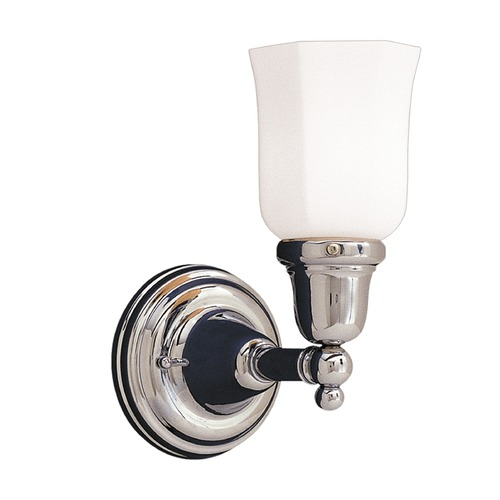 Hudson Valley Lighting Hudson Valley Lighting Historic Collection Polished Nickel Sconce 861-PN-119
