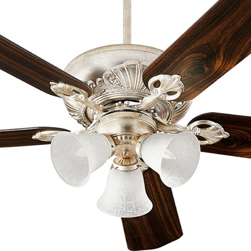 Quorum Lighting Uni-Pack 52-Inch Ceiling Fan With Light Kit by Quorum Lighting 78525-1460