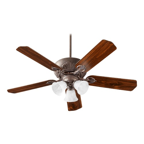 Quorum Lighting Quorum Lighting Chateaux Uni-Pack Toasted Sienna Ceiling Fan with Light 78525-1644