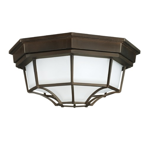 Capital Lighting Capital Lighting Outdoor Old Bronze Close To Ceiling Light 9800OB