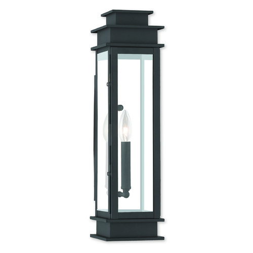 Livex Lighting Livex Lighting Princeton Black Outdoor Wall Light 20207-04