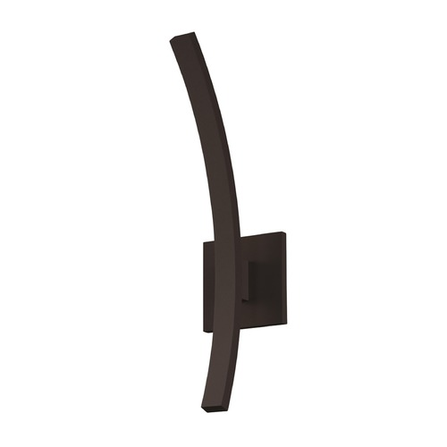 Sonneman Lighting Sonneman L'arc Textured Bronze LED Outdoor Wall Light 7243.72-WL
