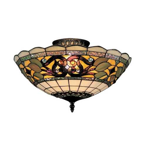Elk Lighting Tiffany Ceiling Light 941-TB