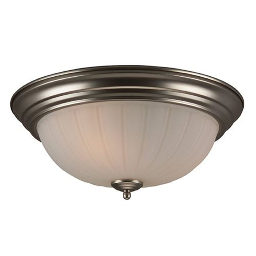 Jeremiah Lighting Jeremiah Brushed Satin Nickel Flushmount Light X115-BN