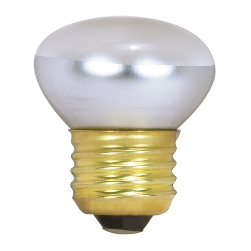 Satco Lighting Incandescent R14 Light Bulb Medium Base Dimmable S3601