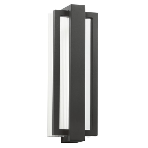 Kichler Lighting Kichler Lighting Sedo Satin Black LED Outdoor Wall Light 49434SBK