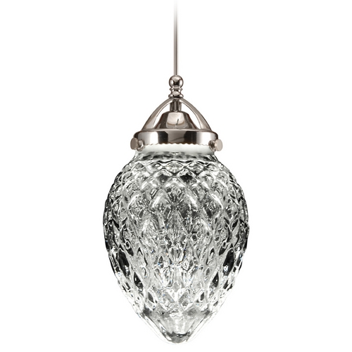 WAC Lighting Wac Lighting Early Electric Collection Chrome LED Mini-Pendant with Bowl / Dome Sha MP-LED491-CL/CH