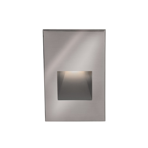 WAC Lighting WAC Lighting Ledme Stainless Steel LED Recessed Step Light with Red LED WL-LED200-RD-SS