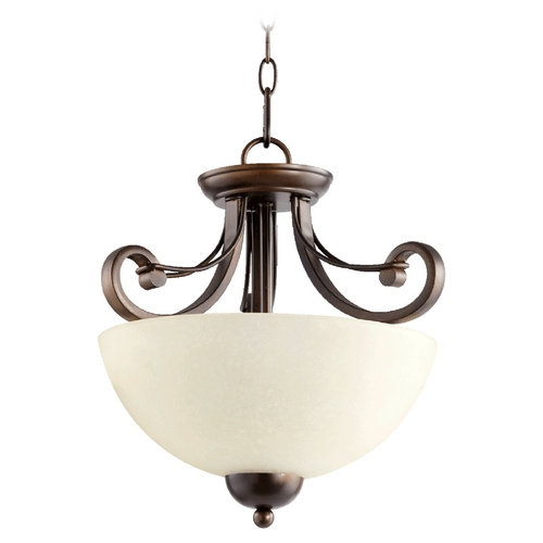 Quorum Lighting Quorum Lighting Wainwright Oiled Bronze Pendant Light 2731-14-86