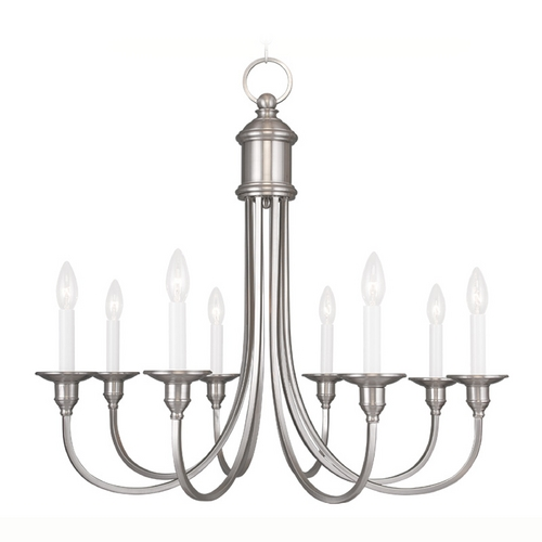 Livex Lighting Livex Lighting Cranford Brushed Nickel Chandelier 5148-91