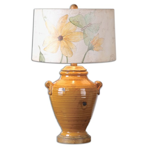 Uttermost Lighting Uttermost Amarillo Ceramic Table Lamp 26170-1