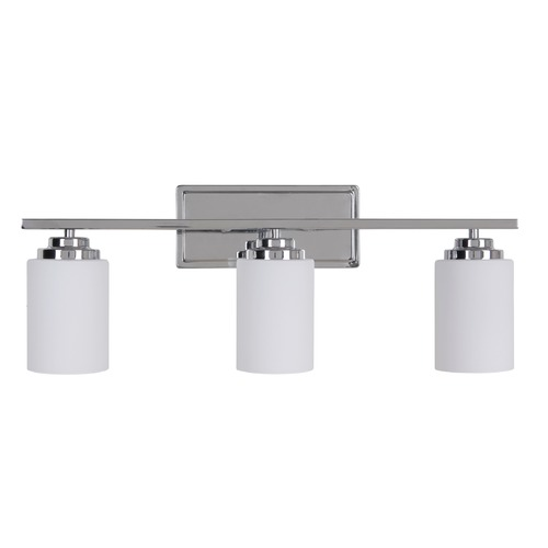Craftmade Lighting Craftmade Lighting Albany Chrome Bathroom Light 39703-CH