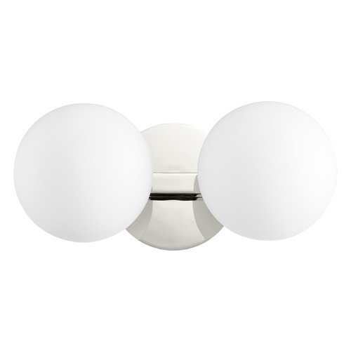 Quorum Lighting Quorum Lighting Polished Nickel Bathroom Light 539-2-62