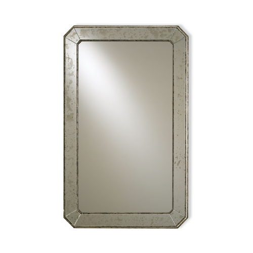 Currey and Company Lighting Antique Mirror Rectangle 26-Inch Mirror 4203