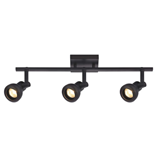 Recesso Lighting by Dolan Designs Track Light with 3 Spot Lights - Bronze - GU10 Base TR0303-BZ
