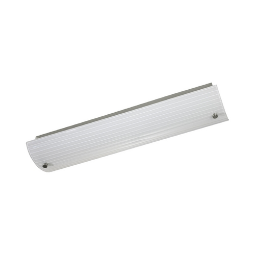 Progress Lighting Progress Modern Bathroom Light with White Glass P7218-09EB